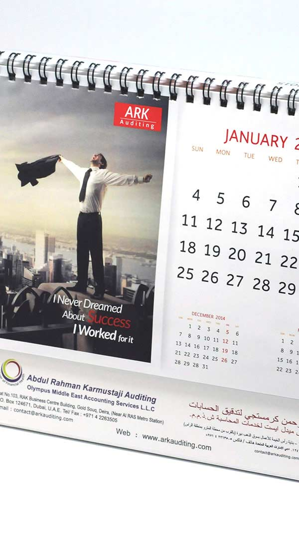 Calendar Printing Services in India