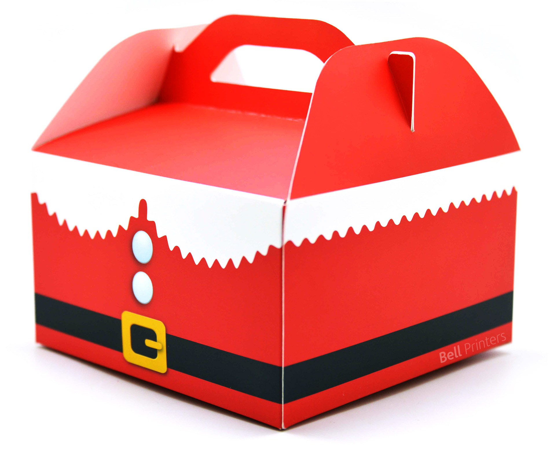 Christmas Santa Holiday Packaging box