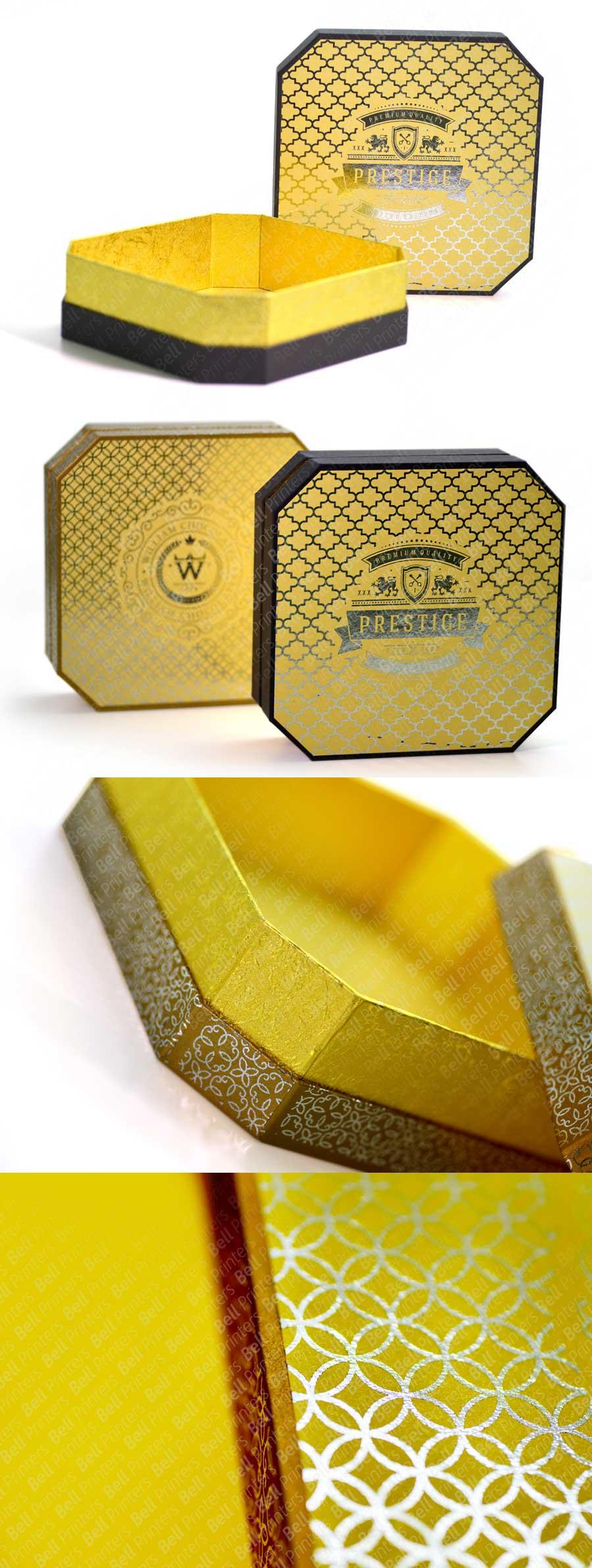 Innovative Octagonal Chocolate Gift Box   Luxury Chocolate Box