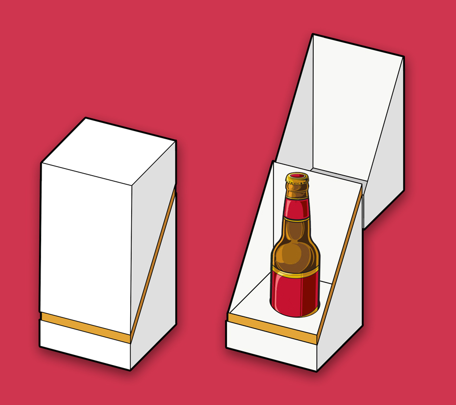 Innovative Packaging for Energy Drink | wine bottle packaging boxes