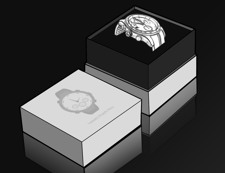 Luxury watch Packaging Boxes | watch box Suppliers | Rigid Box