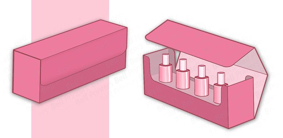 Luxury nail polish packaging boxes | nail polish set box | Rigid Box