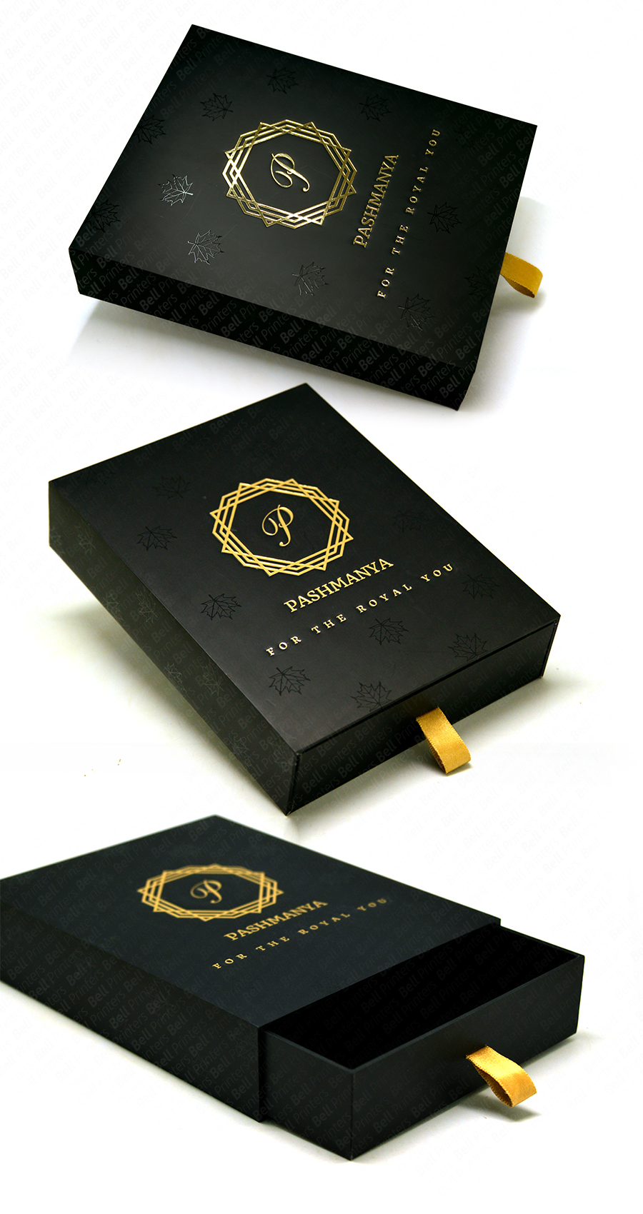 Luxury Cashmere Shawl Packaging  boxes manufacturer