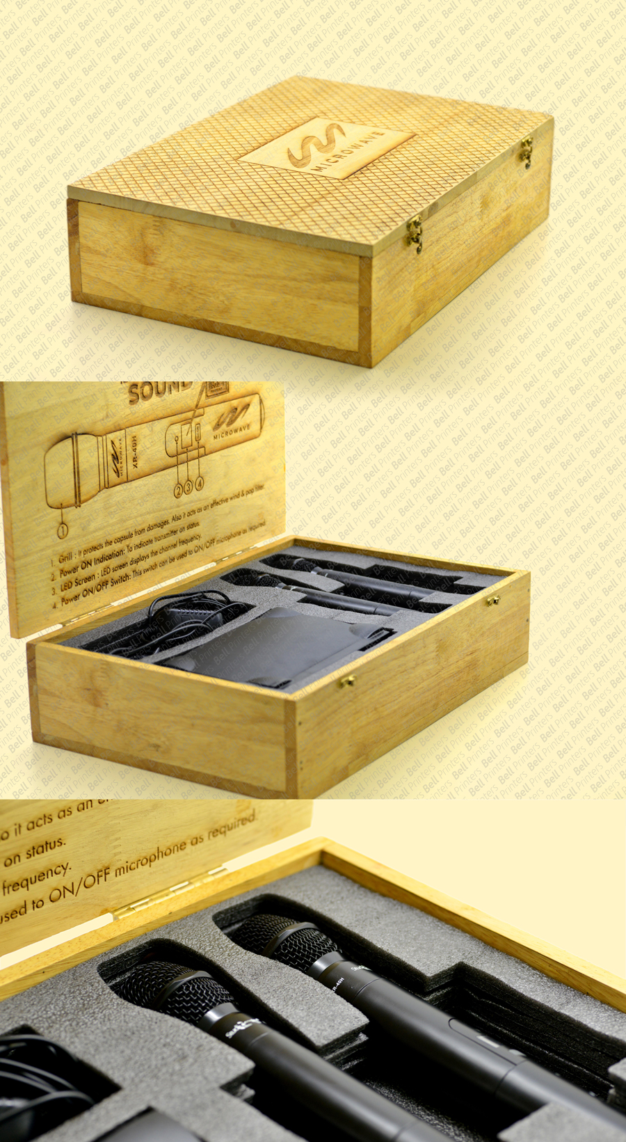 Premium Wooden packaging box | Luxury Electronic device packaging box